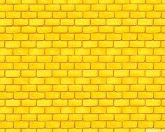 Wizard of Oz - Dorothy's Yellow Brick Road - Sun Yellow
