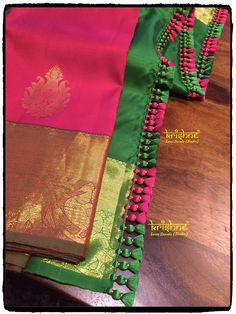 Wedding Silk Saree Tassels