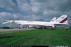 Tupolev Tu-144LL aircraft picture