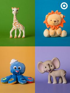For teething, cuddling or just palling around the house, these teethers and toys are sure to become Baby's faves.