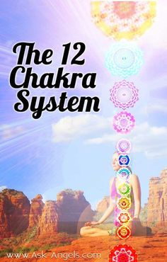 12 Chakras pinning for a later reas