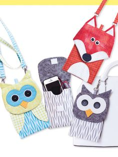 Fun phone cases to customize your look!   Jazz up your everyday style with these fun phone carriers! With 2 template sizes, the smaller case is great for the iPhone 5 and 6 or reading glasses, and the larger case works for the iPhone 6 plus or sungla...
