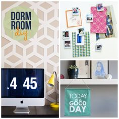 more dorm room diy ideas