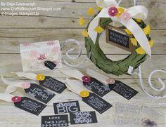 Crafts Bouquet: Paper Pumpkin April 2016 Lovely Little Wreath Alternatives