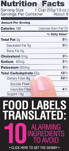 Knowing how to actually read the label is crucial to a truly healthy diet.