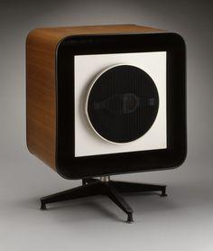 Eames-designed speaker for the Stephens Trusonic Company