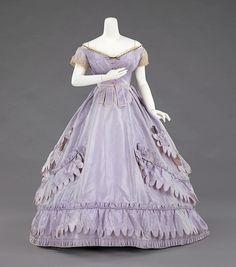 Charles Fredrick Worth transformation dress ca. 1865-1870 via The Costume Institute of The Metropolitan Museum of Art