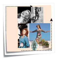 """Rita Hayworth"" by oxana-ferrari ❤ liked on Polyvore featuring Post-It, Joseph Ribkoff and Surya"