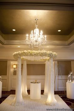 Floral & Decor: Bold American Events  Wedding Chuppah