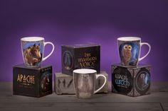 #Fantasy #kolekce porcelánových hrníčků od Lisy Parker.