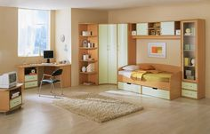 Girl Teen Room Madera