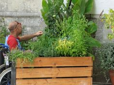 TERRAform Raised Bed Makes Gardening Wheelchair Accessible - not yet available in USA