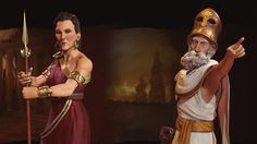 Multiple rulers confirmed: Pericles, Gorgo both lead Greece in 'Civilization VI'