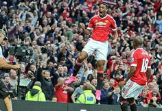 Anthony Martial debut goal for Manchester United.