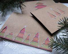 Kartki :) #ekopapier #papier #eco #card #cards #xmas #christmas #christmascard #christmastree #komodapomyslow #DIY #christmasidea #idea