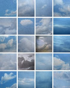 Lonnie Dean, Clouds (To Sol Lewitt), Sequence Photography, Landscape Photography, Art Photography, What Is Modern Art, Yves Klein, Geometric Shapes Art, Creative Landscape, Land Art, Ink Painting