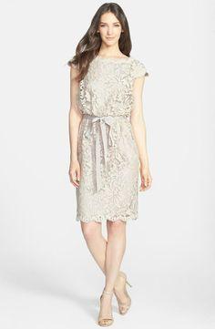 Lace Blouson Dress!!!