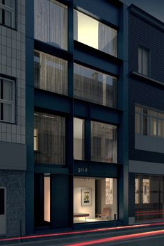 AEL Residential Complex - Elementarchitecten Facade Architecture, Residential Architecture, Metal Facade, Style Minimaliste, Residential Complex, Facade Design, Minimalist Home, Windows And Doors, The Hamptons