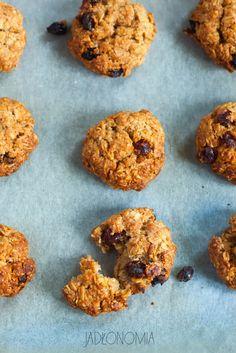 jadłonomia · roślinne przepisy: Ulubione ciasteczka owsiane