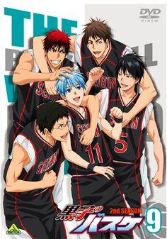 "Volume 9 jacket published ""Kuroko's Basketball 2nd SEASON"" Blu-ray & DVD! http:// Bit.Ly/1mxI4Eu  pic.twitter.com/QCv9OtX4dH #kuroba"