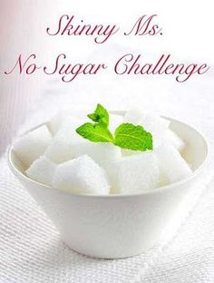 Are you ready to go for the No Sugar Challenge?  #nosugar #challenge #skinnyms