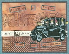 images tim holtz the journey stamp | Details about *Tim Holtz Cling Rubber Stamps SOULFUL JOURNEY Stampers ...