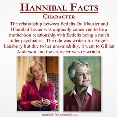 """Den of Geek, Louisa Mellor, 1 May 2013 """"""""Well, originally the role was written… Hannibal Actor, Hannibal Funny, Hannibal Tv Series, Mother Son Relationship, Sir Anthony Hopkins, Den Of Geek, Angela Lansbury, I Want To Cry, Hugh Dancy"""