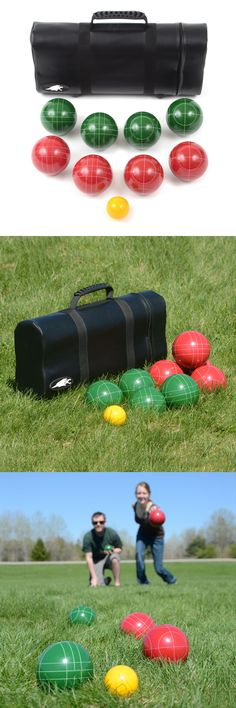 Bocce Ball 79788: Lion Sports Best 107 Mm Tournament Resin Bocce Set In Leather Carry Bag 75107Tc -> BUY IT NOW ONLY: $60.99 on eBay!