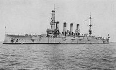 """USSWest Virginia(ACR-5/CA-5), also referred to as """"Armored Cruiser No. 5"""", and later renamedHuntington, was aUnited States NavyPennsylvania-classarmored cruiser. Commissioned: 23 February 1905. Decommissioned: 1 September 1920. Fate: sold for scrap 30 August 1930."""