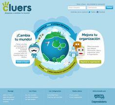 Cluers #Eurekas! Comunicación entre personas y organizaciones Startups, Diagram, Chart, Map, Organizations, Innovative Products, People, Location Map, Maps