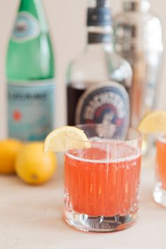 Celebrate with this delicious strawberry whiskey collins. We promise, you'll love it (even if you aren't a whiskey drinker!)