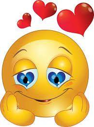 smiley kuss mit herz