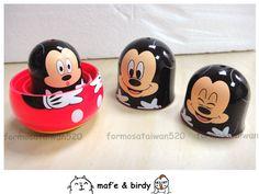 Mickey nesting dolls