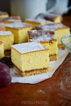 Sweet Recipes, Cake Recipes, Polish Recipes, Food Cakes, Cakes And More, Goat Cheese, No Bake Cake, Cornbread, Vanilla Cake