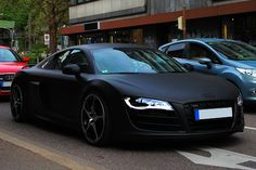 ooohhh...and i think Audis too.    Matte Black ABT Audi R8