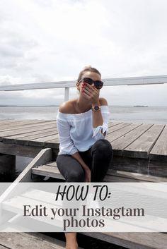 How to edit your Instagram photos | brightening - Miss Wanderess