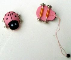 how to: ladybug pull toy