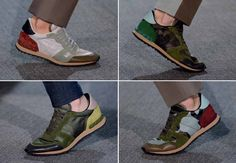 SPRING ACCESSORIES | The sneakers. Valentino S/S 13 | The GQ Spring 2013 Trend Report: Spring Fashion for Men: Wear It Now: GQ