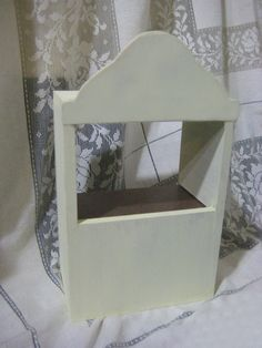 Display Bookshelf for Home Decor Makeup Jewelry or Puppet Theater
