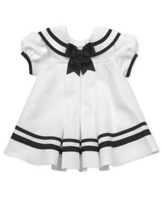nautical baby dress $30