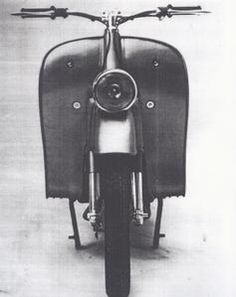 A BMW scooter from the '50s