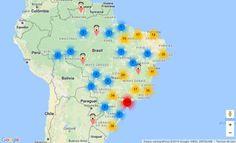 | Mapa colaborativo das delegacias da mulher no Brasil |