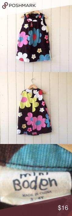 3-4y Mini Boden dress Mini Boden dress Mini Boden Dresses