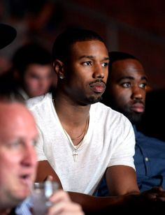 Michael B. Jordan attends BKB Big Knockout Boxing, at the Mandalay Bay Events Center on June 2015 in Las Vegas Fine Black Men, Handsome Black Men, Fine Men, Michael Bakari Jordan, Bae, Cute Black Boys, Man Crush Everyday, Fine Boys, Chocolate Men