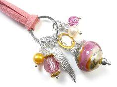 Lampwork Glass Pendant - Opulence Lampwork Beads, Glass Pendants, Sterling Silver Jewelry, Swarovski Crystals, Lovers, Pearls, Gold, Beads, Gemstones