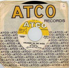 Mr. Acker Bilk 45 rpm Stranger on the Shore b/w Cielito Lindo
