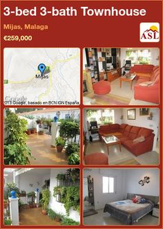 3-bed 3-bath Townhouse in Mijas, Malaga ►€259,000 #PropertyForSaleInSpain