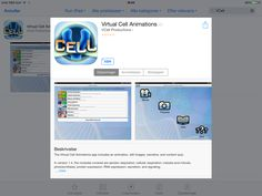 App med animationer af celler.