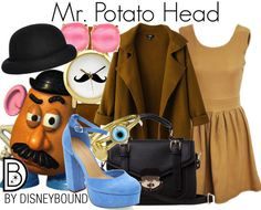 A fashion look from February 2015 featuring Chicnova Fashion coats, Bling Jewelry rings and Kate Spade earrings. Browse and shop related looks. Disney Themed Outfits, Disney Inspired Fashion, Character Inspired Outfits, Disney Bound Outfits, Disney Dresses, Disney Clothes, Disney Fashion, Disneyland Outfits, Disneyland Trip