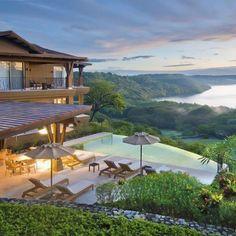 A beautiful Villa in Costa Rica.. Yes please!